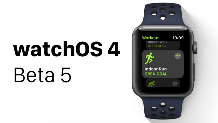 watchOS 4 Beta 5