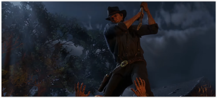 Red Dead Redemption 2 Screenshots From New Trailer Was Running On Ps4