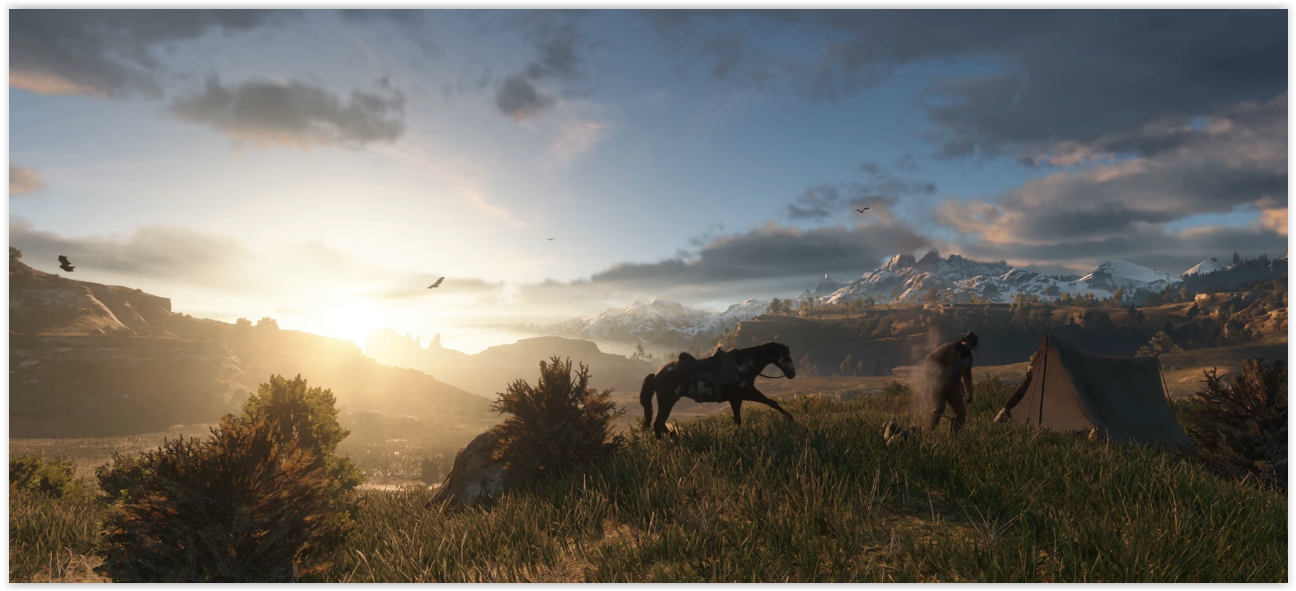 Red Dead Redemption 2 Screenshots From New Trailer Was