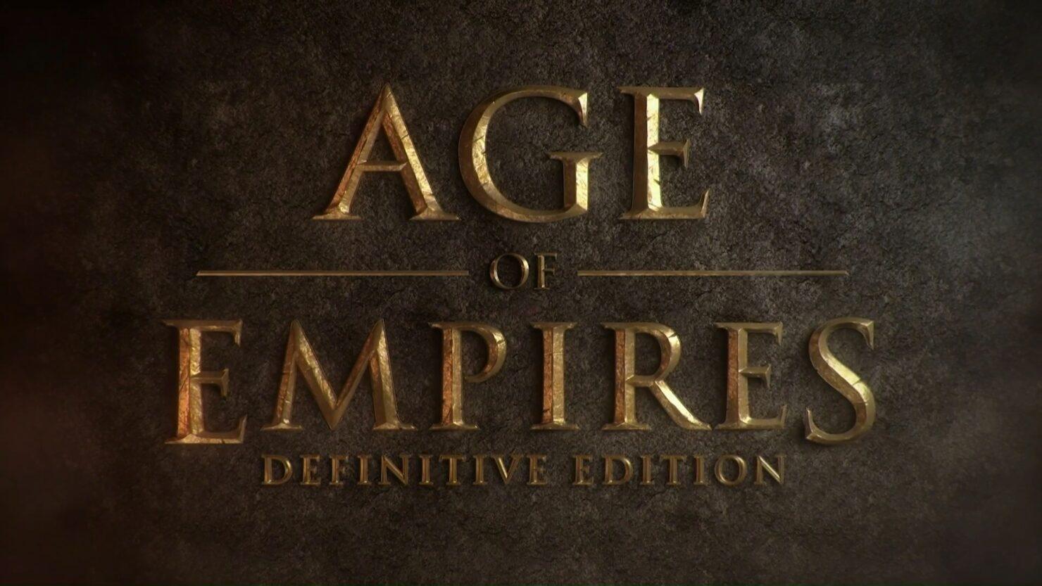 Age of Empires Definitive Edition 01 - Header
