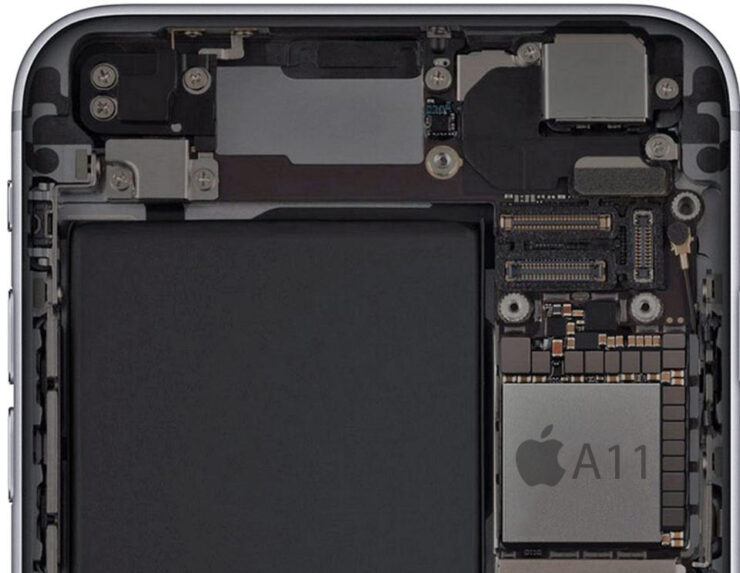 Apple A11 SoC to Feature 2 Performance and 4 Efficient Cores, According to Leaked Info