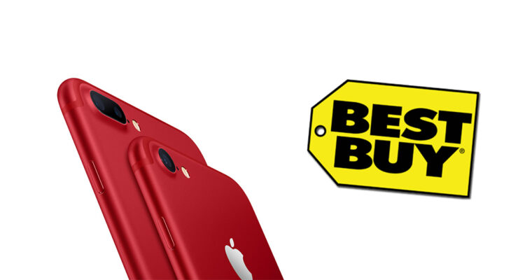 Best Buy iPhone 7 (PRODUCT)RED discount