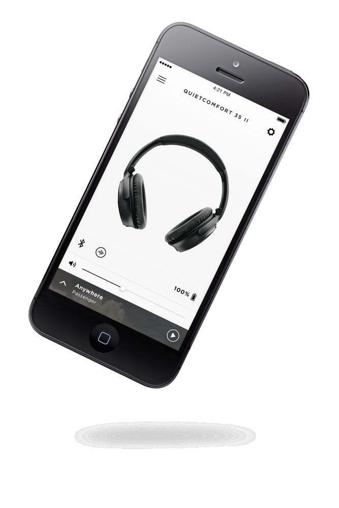 Bose QuietComfort 35 II Google Assistant-Enabled Headphones