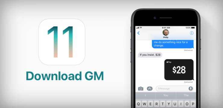 Download iOS 11 GM