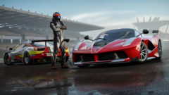 forza-motorsport-7-driver-posing-by-the-cars