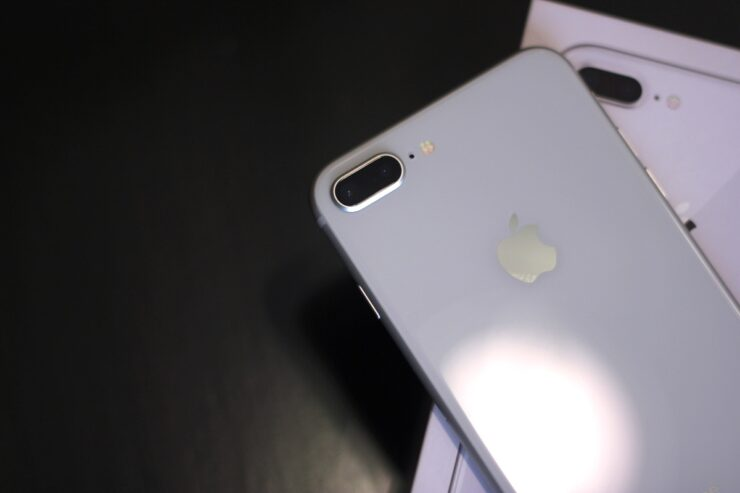 Iphone 8 Plus Quick Unboxing Of Silver 64gb Model Photo