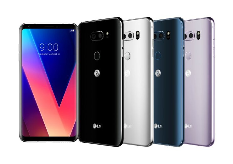 LG V30 sales begin this week