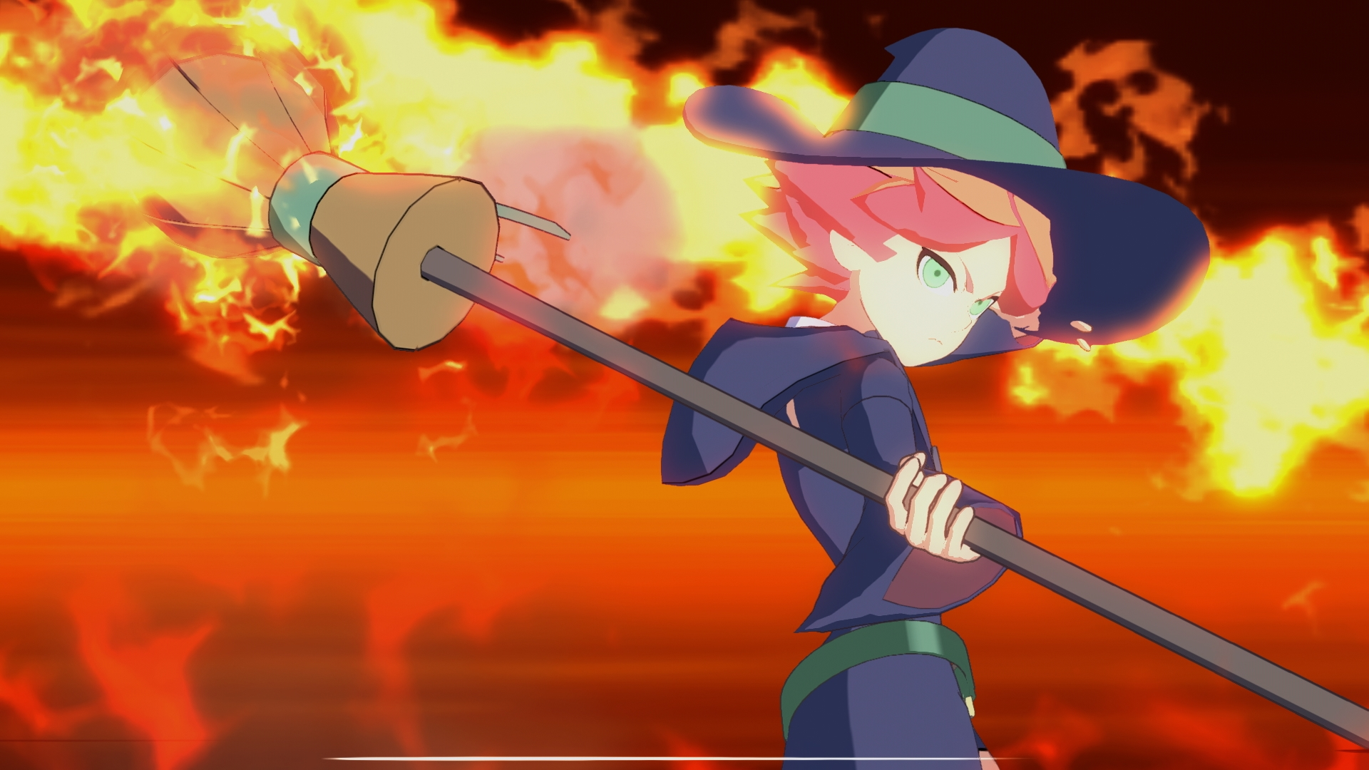 Little Witch Academia The Chamber Of Time Hands On Preview