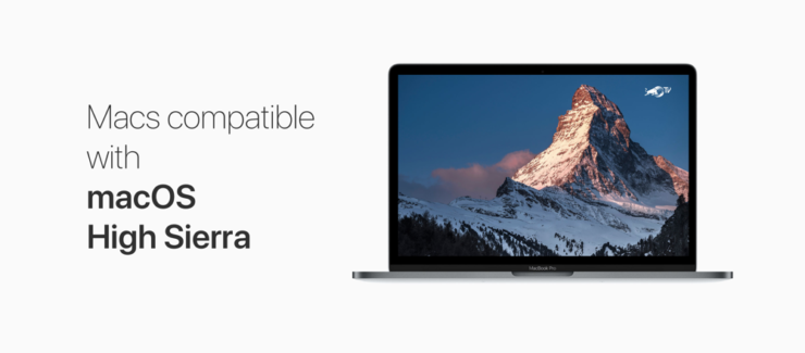 Macs Compatible with macOS High Sierra