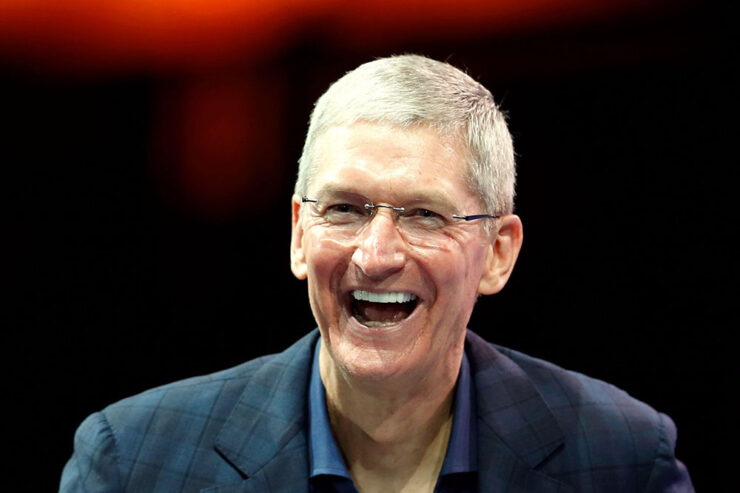 facebook Tim Cook Believes That Apple Products Are Not Priced for the Rich, but Instead 'Change the World'