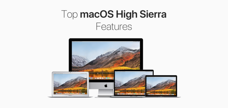 macOS high Sierra features