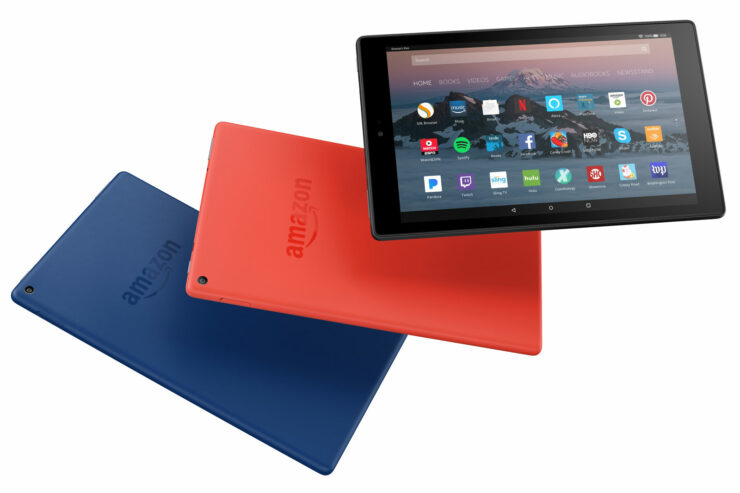 Amazon Fire HD 10 Tablet Has a Crispier Resolution and Better Hardware for a Small Price Tag