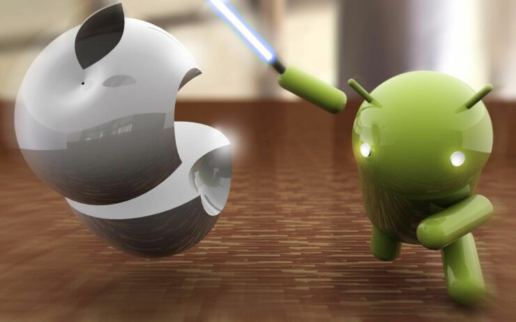 android apple qualcomm