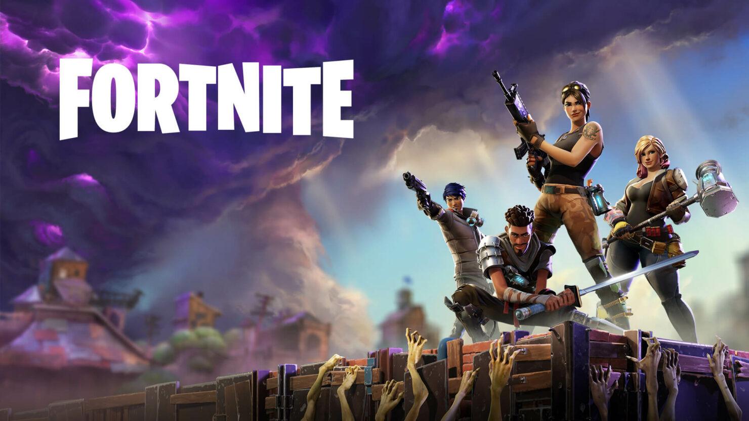 Fortnite Xbox One X update 4K Epic
