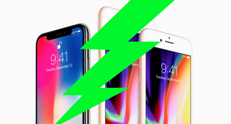 iPhone X iPhone 8 fast charger list