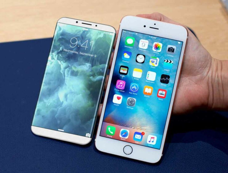 iPhone 8 Resembles an iPhone 7 When Comparing Sizes With the iPhone 7 Plus