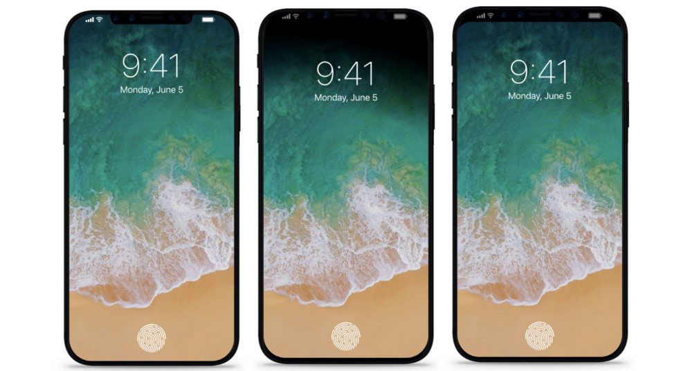 iPhone 8 shipping in October