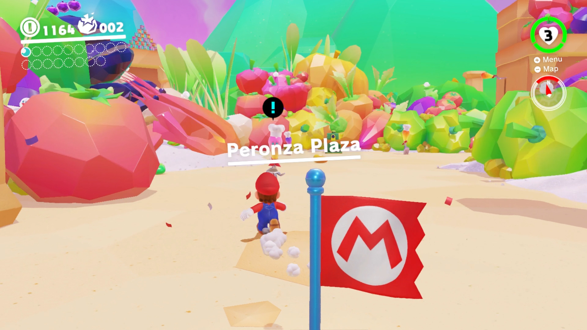 Super Mario Odyssey Hands On With Luncheon And Seaside Kingdoms