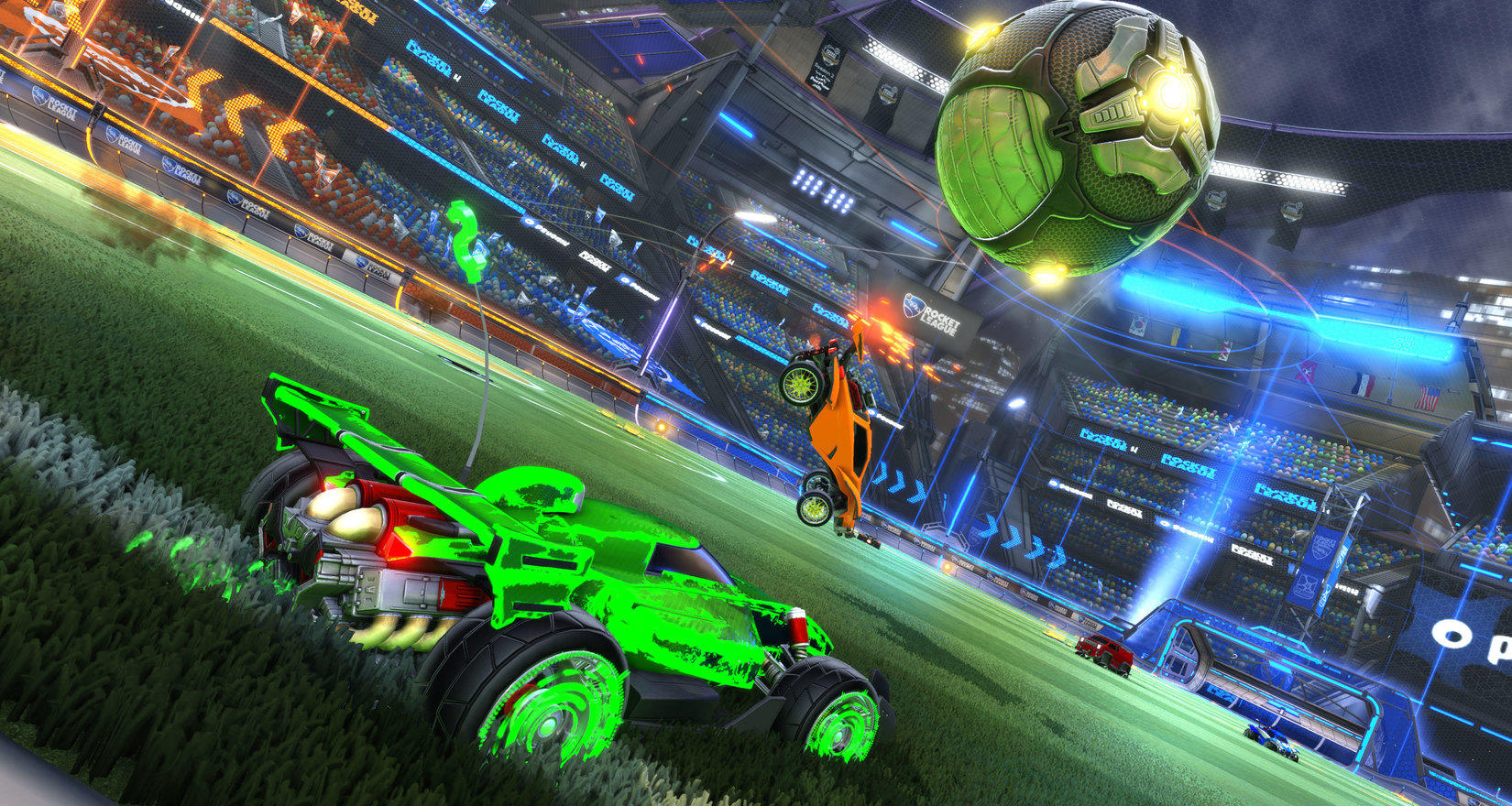 Best Racing Games 2017 Pc >> Rocket League's Autumn Update Will Bring a New Stadium on September 28