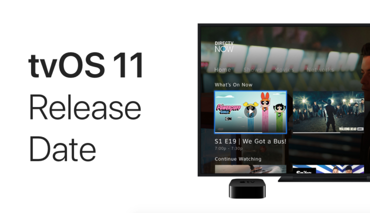 tvOS 11 release date