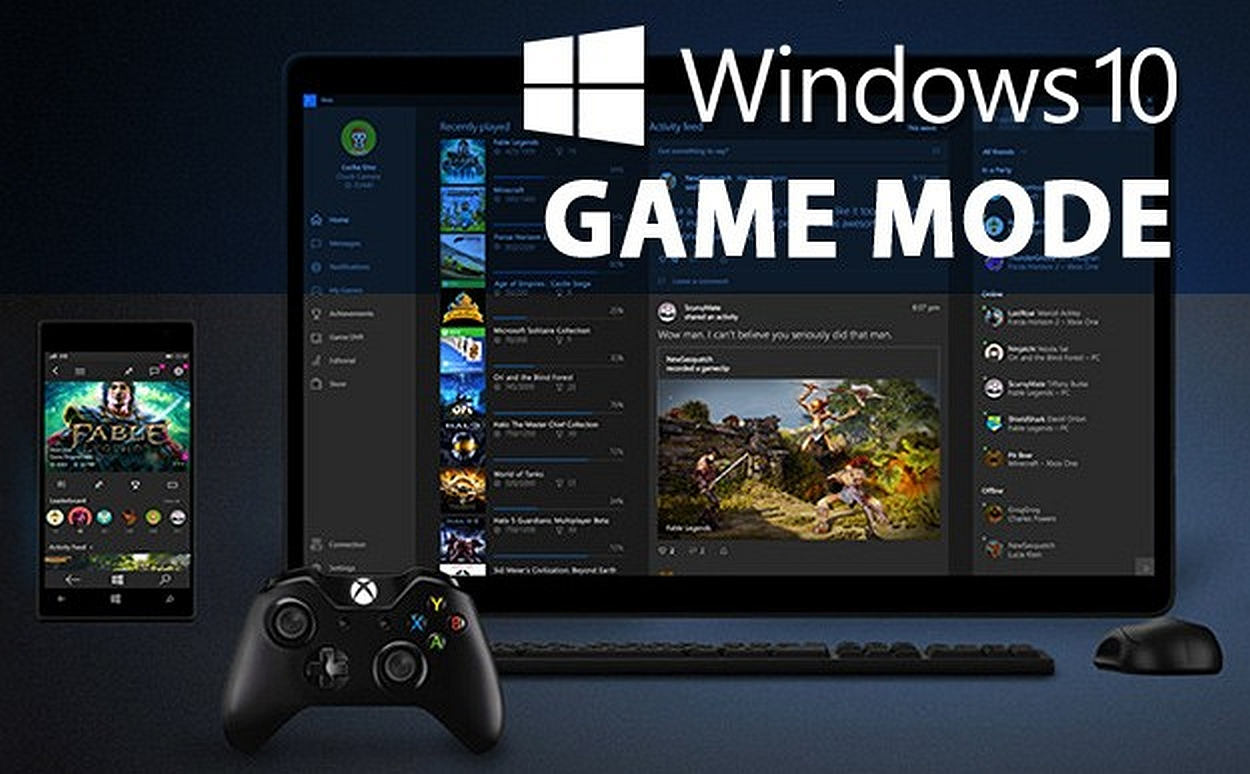 Win10 Fall Creators Update To Improve Game Mode, Allowing ...