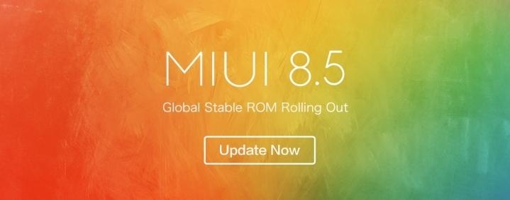 MIUI 8.5 Mi Mix 2