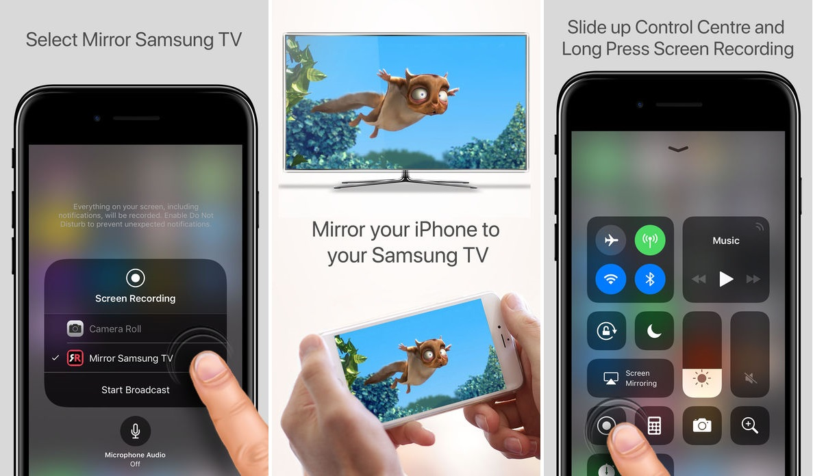 mirror iphone to tv You Can Now Mirror Your iPhone Directly To A Samsung TV With  mirror iphone to tv