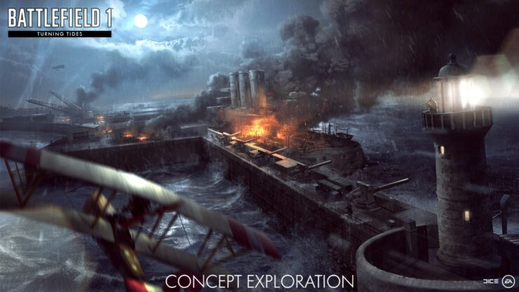 Battlefield 1 Turning Tides North Sea DLC