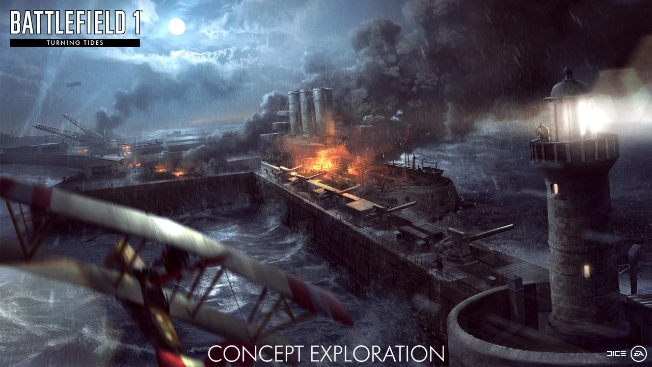 Battlefield 1 Turning Tides North Sea DLC