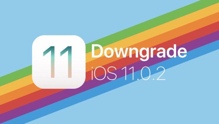 Downgrade iOS 11.0.2