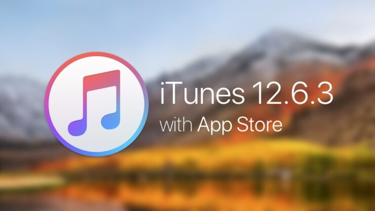 Download iTunes 12.6.3