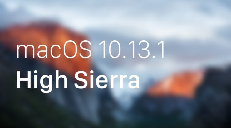 Download macOS 10.13.1