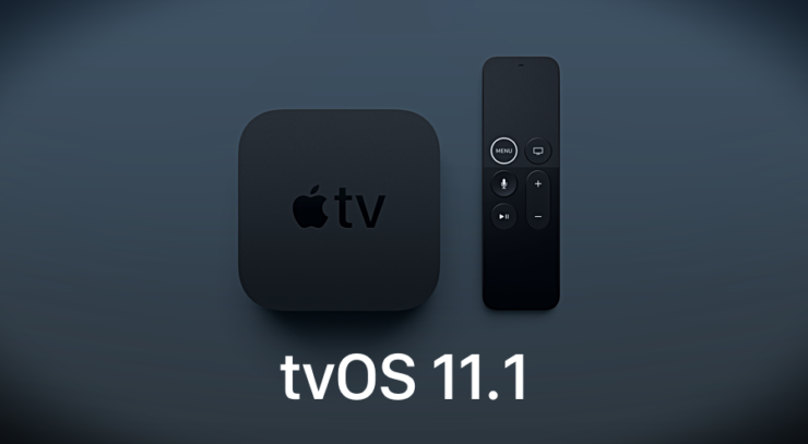 Download tvOS 11.1
