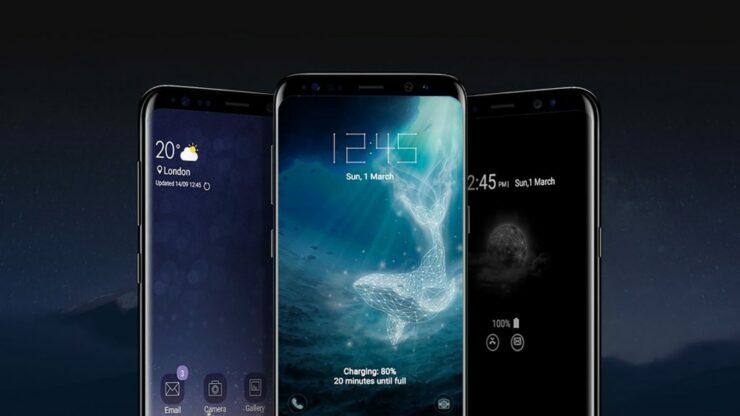 Galaxy S9 front fingerprint sensor