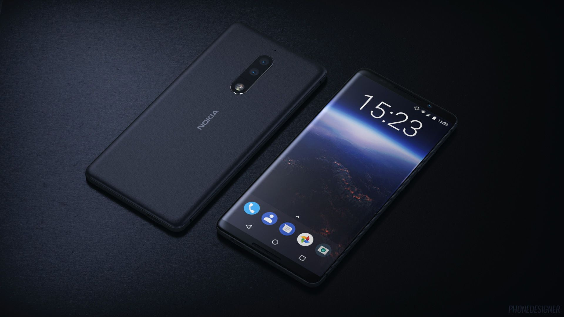 Nokia 9's Back Covers Leak; Feature Dual Camera ...