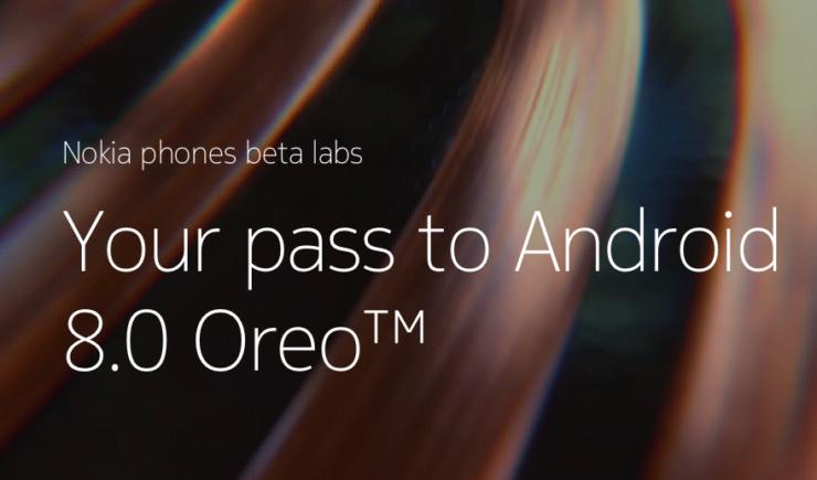 Nokia Beta Program Oreo