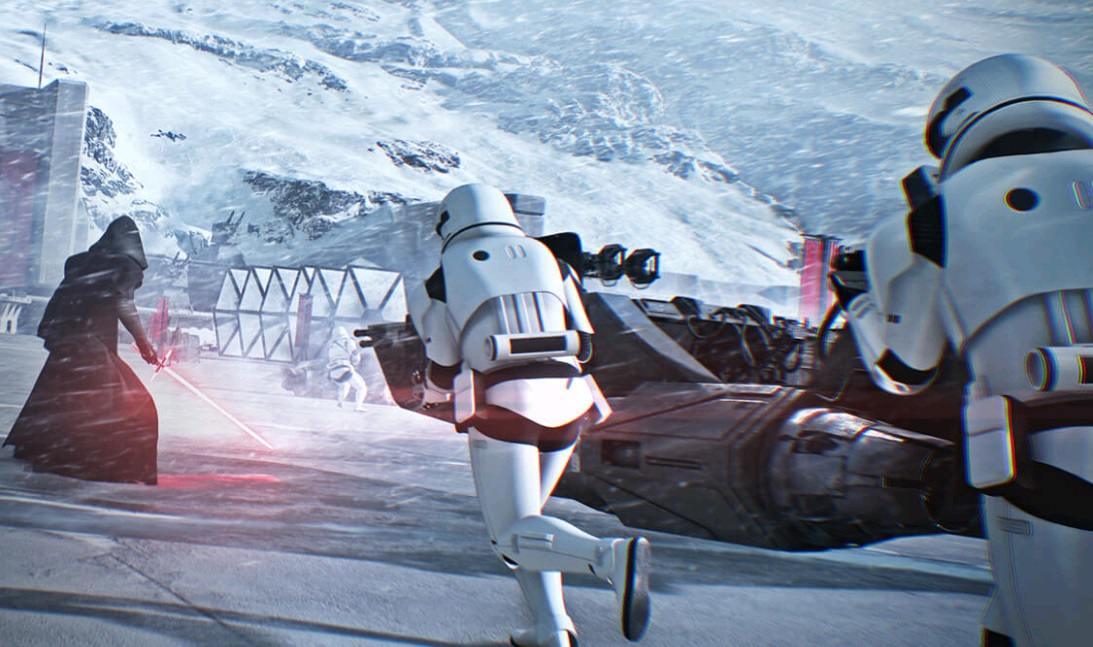 Star Wars Battlefront II Beta Sports Dynamic Resolution On ...