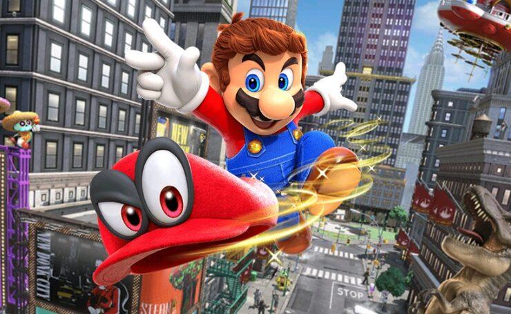 Super Mario Odyssey Update 1.0.1
