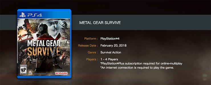 Metal gear survive matchmaking