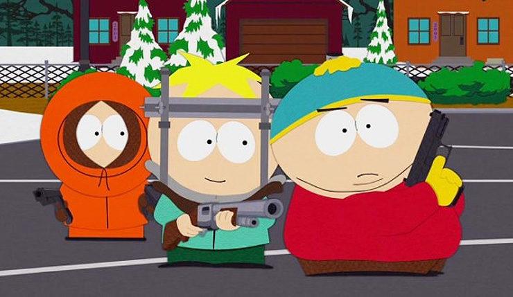 South Park Guns
