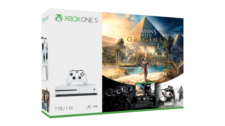 Xbox One S Assassin's Creed Origins