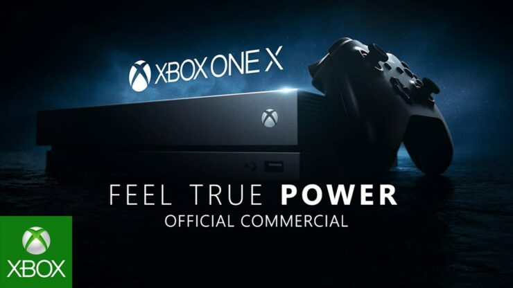 Xbox One X tv commercial