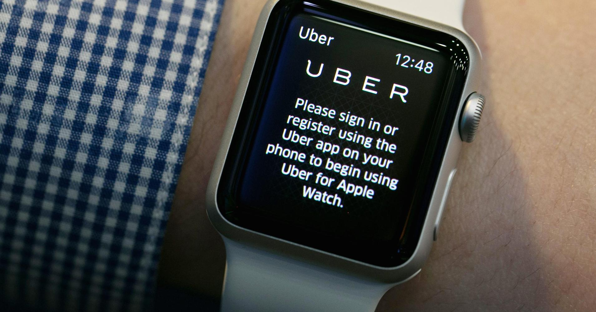 apple watch uber