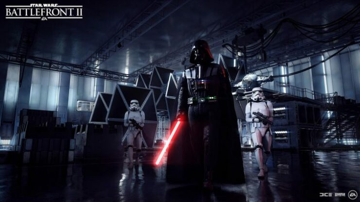 darth vader star wars battlefront II