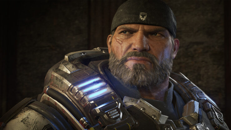 gears of war 4 xbox one x update