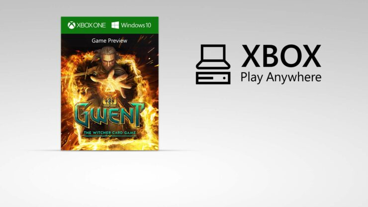 gwent witcher card game xbox play anywhere