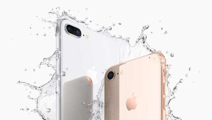 iPhone 8 sales less than s model