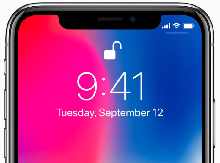 iPhone X Was Never Going to Have Touch ID at the Back or Under the Display, Says Apple
