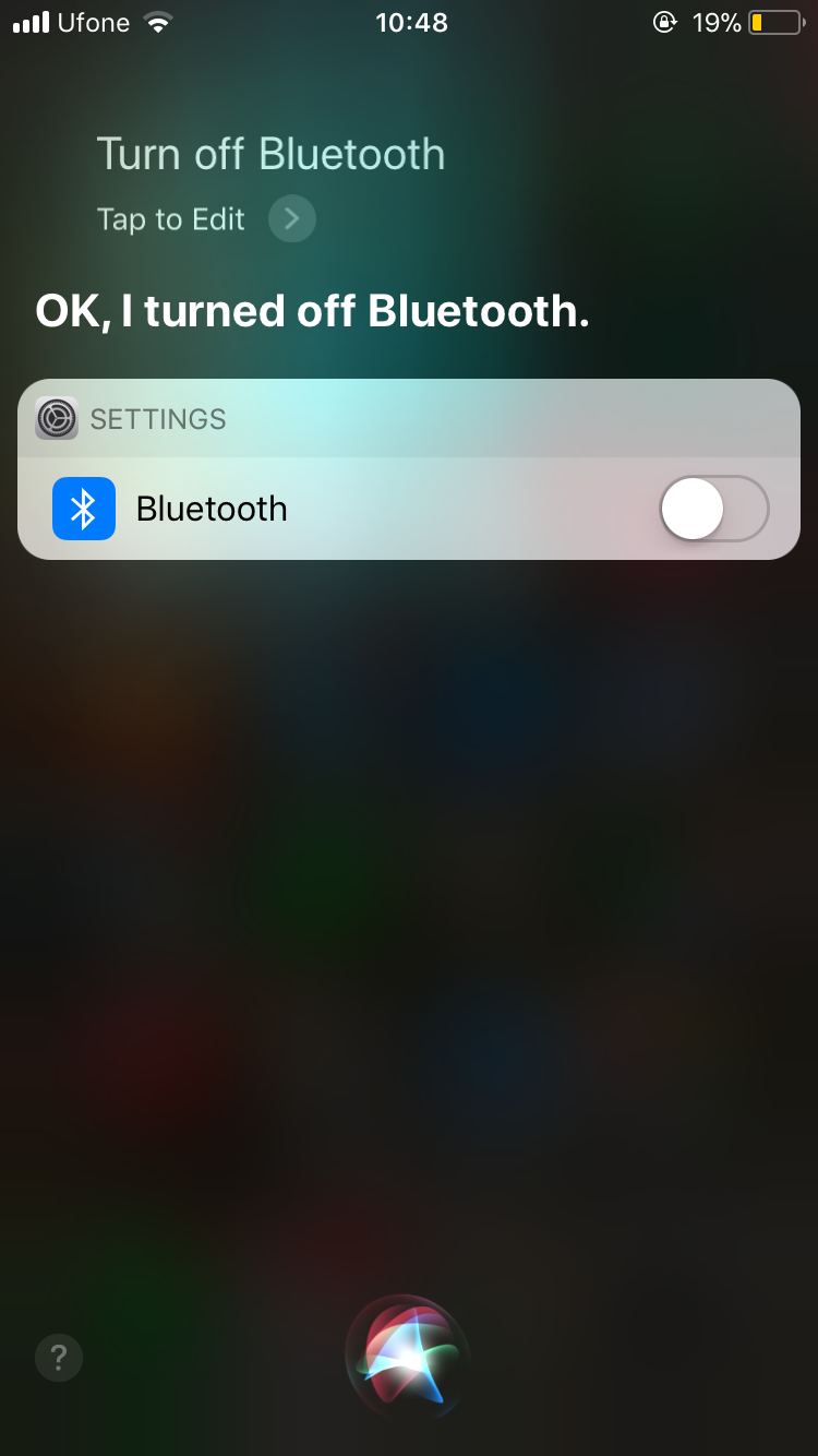 turn off ios 11 bluetooth and WiFi