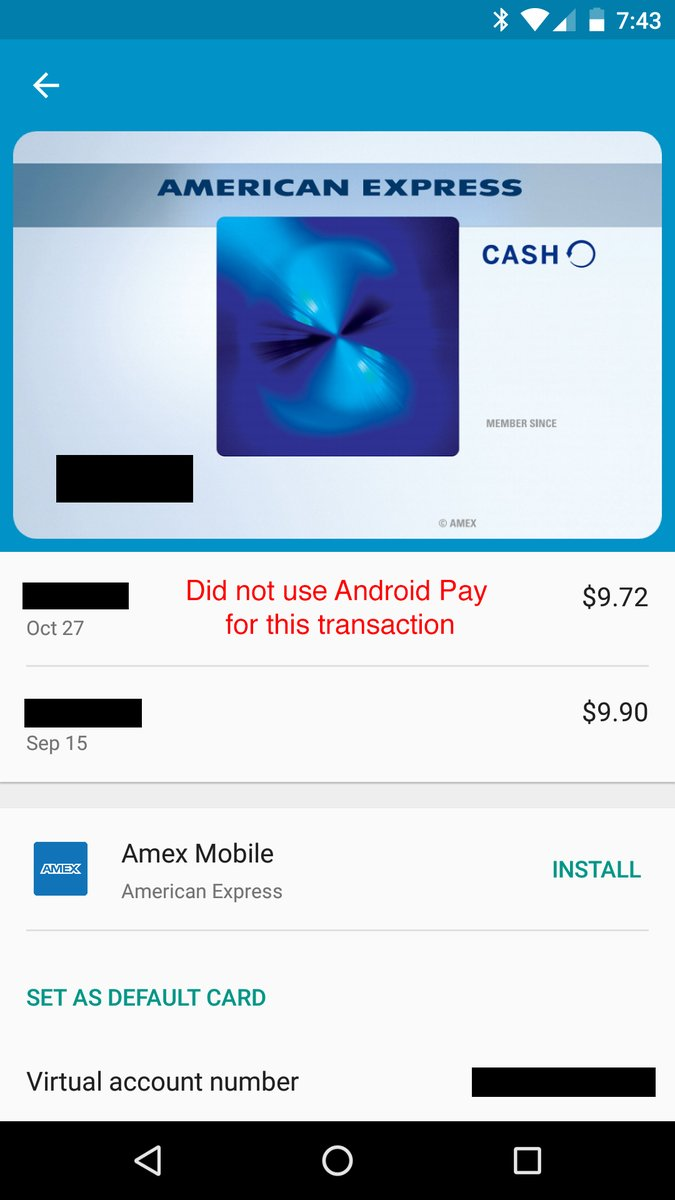 Android Pay Testing Notification Features For All Credit Card Purchases